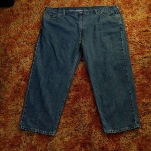 "Mens 54"" Waist 54x29 Levis 550 Denim Jeans"